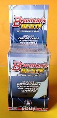 2015 Bowman Best HOBBY Mini-Box 2 AUTO Look4 Kris Bryant Aaron Judge Mike Trout