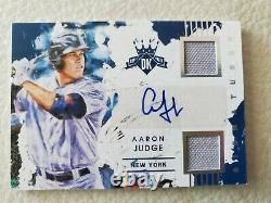 2016 Panini Diamond Kings Aaron Judge Jersey 138/199 Rookie Autograph signed