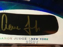2017 Aaron Judge Immaculate Carbon Gold Ink Auto /15 Button RPA RC Rookie Signed