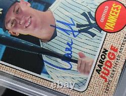 2017 Topps Heritage Aaron Judge PSA 10 AJ SIGNED AUTOGRAPH Rookie Card Yankees