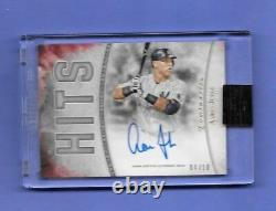 2017 Topps Luminaries Hit Kings Autograph Red Parallel AARON JUDGE 04/10 Signed