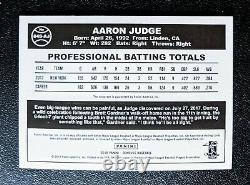 2018 Topps Aaron Judge Autograph 1984 Green Prizm Holo Auto #/5 MINT, Yankees