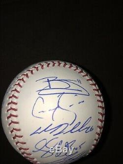 2019 New York Yankees Team Autographed Signed Baseball Ball Aaron Judge Coa