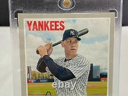 2019 Topps Heritage Aaron Judge Real One Auto Signed Autograph New York Yankees
