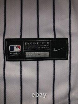 2020 Authetic nike Authentic Aaron Judge Autographed Jersey! Inscribed 2017 ROY