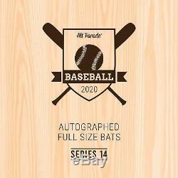 2020 Hit Parade Autographed Baseball Bat Box Series 14 A. Judge & H. Aaron