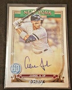 2020 Topps Gypsy Queen Auto Hand-Signed Aaron Judge New York Yankees