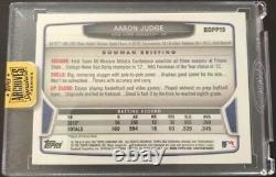 AARON JUDGE 2017 Topps Archives Signature Series Auto 2013 Bowman Chrome #/25