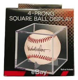 AARON JUDGE AUTOGRAPHED Hand SIGNED O. L. BASEBALL New York YANKEES withCOA & Cube