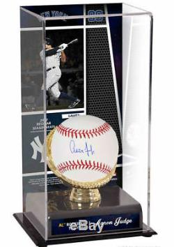 AARON JUDGE Autographed Authentic Official Baseball with ROY Case FANATICS
