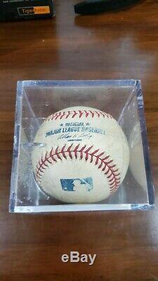 AARON JUDGE Autographed New York Yankees Authentic Baseball JSA LOA
