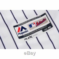 AARON JUDGE Signed / Inscribed 2017 AL ROY Authentic Yankees Jersey FANATICS