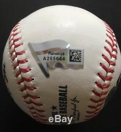 AARON JUDGE signed Baseball Mlb Rookie HR REC 52 fanatics Yankees MT AUTO LE/99
