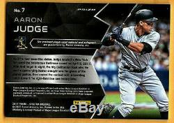 Aaron Judge 2017 Panini Spectra Rc Prizm Game Jersey Autograph / Auto