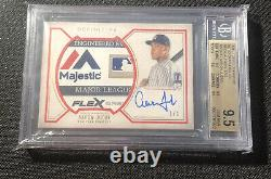 Aaron Judge 2019 Topps Definitive 1/1 Laundry Tag BGS 9.5/10 Game Used