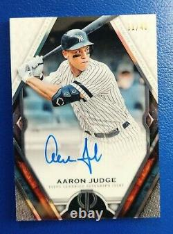 Aaron Judge 2021 Topps Tribute Auto Yankees /40 Autographed