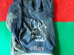 Aaron Judge-(2)signed Game Used Batting Gloves 2015 Coa Included