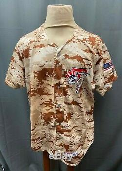 Aaron Judge #59 Signed Game Used Rookie Tampa Yankees Camo Jersey Sz 52 JSA LOA