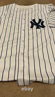 Aaron Judge #99 Autographed New York Yankee Pinstripe Jersey With COA