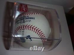Aaron Judge #99 New York Yankees Single Signed Baseball Coa Authentic With Case