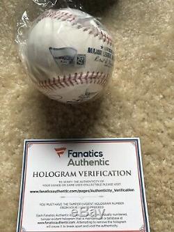 Aaron Judge Autograped/Signed Home Run Derby Baseball, Fanatics 1/1