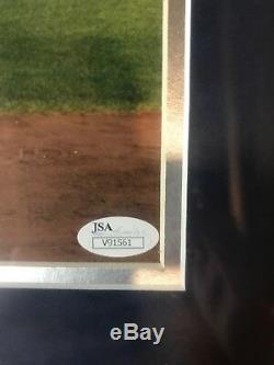 Aaron Judge Autograph Signed Yankees 11x14 Photo Framed JSA