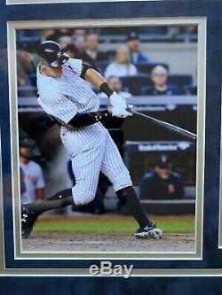 Aaron Judge Autograph Signed Yankees Grey Jersey Framed Fanatics