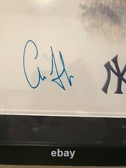 Aaron Judge Autographed 16x20 Custom Framed Photo JSA Certified