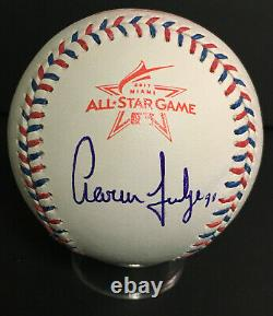 Aaron Judge Autographed 2017 MLB All Star Baseball Rawlings NY Yankees JSA LOA