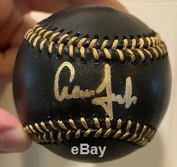 Aaron Judge Autographed Baseball Fanatics Coa