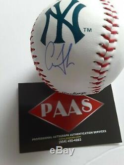 Aaron Judge Autographed Baseball With COA