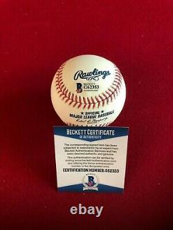 Aaron Judge, Autographed (Beckett), Official Rawlings Baseball (Yankees)