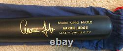 Aaron Judge Autographed Chandler Game Model Baseball Bat