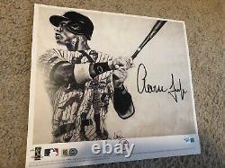 Aaron Judge Autographed New York Yankees 8x10 /9x10 Photo Art Print Fanatics COA
