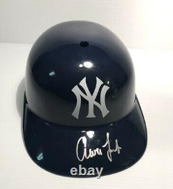 Aaron Judge Autographed New York Yankees Full Size Souvenir Helmet with COA