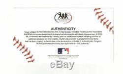 Aaron Judge Autographed New York Yankees Jersey Mlb Coa Framed Photo 34x42 Auto