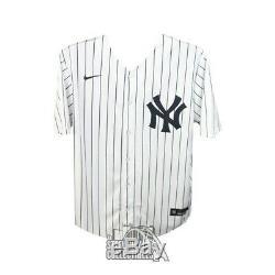 Aaron Judge Autographed New York Yankees Nike Baseball Jersey Fanatics