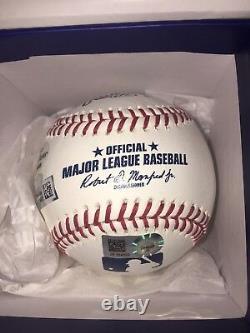 Aaron Judge Autographed Official Baseball MLB Hologram