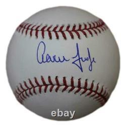 Aaron Judge Autographed/Signed New York Yankees OML Baseball MLB 29964