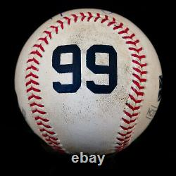 Aaron Judge Baseball Authenticated Masterpieces Game-Used, Autographed Baseball