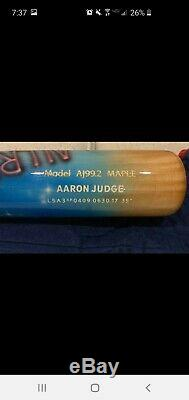 Aaron Judge NY Yankees Autographed Chandler Home Run Derby Model Bat Fanatics