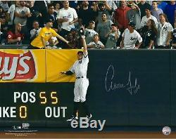 Aaron Judge NY Yankees Signed 16x20 2017 ALDS Game 3 Robbing Home Run Photo