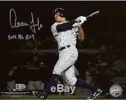Aaron Judge NY Yankees Signed 8x10 Photo & 2017 AL ROY Insc Fanatics Authentic