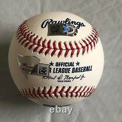 Aaron Judge NY Yankees Signed Baseball with Fanatics and Official MLB Holograms