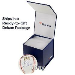 Aaron Judge New York Yankees Autographed Baseball with All Rise Incs Fanatics