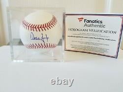 Aaron Judge New York Yankees Autographed OMLB & Certified by MLB & Fanatics Mint