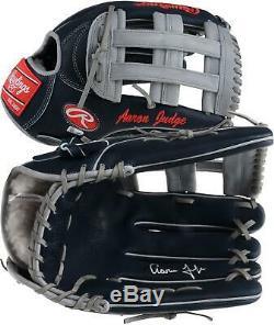 Aaron Judge New York Yankees Autographed Rawlings Game Model Glove Fanatics