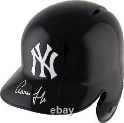 Aaron Judge New York Yankees Autographed Replica Batting Helmet Fanatics