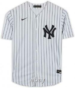 Aaron Judge New York Yankees Autographed White Nike Replica Jersey