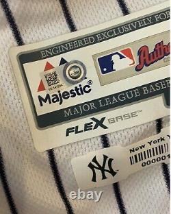 Aaron Judge New York Yankees Game Used Worn Jersey 10 Games, 4 HRs Signed